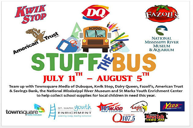 Stuff The Bus For St Mark S Youth Enrichment Center Y105