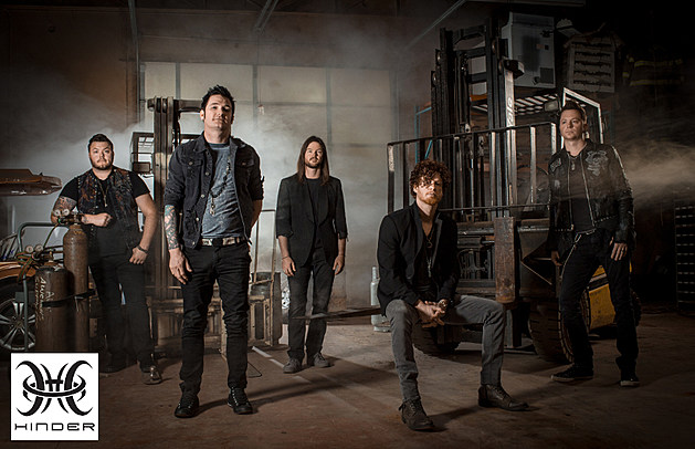 Hinder will rock the Dubuque County Fair with Pop Evil and Starset on Saturday night, July 29th!